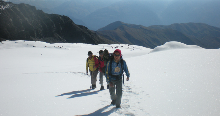 Walking over the frozen river; crossing the wintry grasses and snow-covered trails, a mixture of exploration and adventure, trekking himalayas in winter is an experience of a lifetime. So as to introduce you to the best winter treks in India, we are offering winter special fixed departure treks 2019 with adventurers that share the same enthusiasm as you. So plan the following treks right away to satisfy your wanderlust.  1. Gomukh Tapovan - Witness the journey of Ganga from the source to the cities  One of the popular treks of Garhwal, Gomukh Tapovan trek will introduce you to places like Uttarkashi, Gangotri, Gomukh, Tapovan, and Nandanvan, which are the melange of natural beauty and spiritual enhancement. Throughout the journey, travelers will see a vast display of natural beauty including glaciers, peaks, high altitude meadows, and varied species of Himalayan birds. Click here for detailed itinerary  Grade: Moderate to Challenging   Also Read: Popular Treks in Uttarakhand, Himalaya  2. Chopta Chandrashila Trek - From the painter's muse   Famous and comparatively easy trek of Uttarakhand, Chopta Chandrashila will take you to highest Shiva temple; unspoiled high altitude lakes and remote villages tremendously lit in the beautiful backdrop of Chopta Valley. From the top of the honorary Chandrashila summit, tourists can get the gratifying view of magnificent surrounding peaks of Trishul, Nanda Devi, and Chaukhamba. Click here for detailed itinerary  Grade: Easy  Also Read: Best Climbing Expeditions in India  3. Stok Kangri Trek - Uncover the best-kept secrets of Ladakh  Get, set, ready for the journey of the lifetime. Exhilarating, nerve-racking yet beautiful, Stok Kangri Trek would take you to an unending adventure journey that will blaze in your memory forever. Click here for detailed itinerary  Grade: Challenging  Also Read: Top Jeep Safari Experiences in India  4. Dzongri - Goechala Trek - Best trekking trail for novices   A fascinating trip for all the adventure