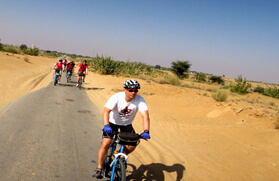 Cycling Tours North in India