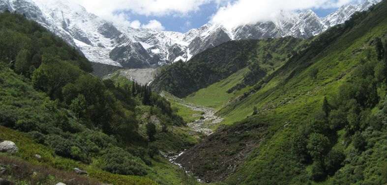 Jagatsukh to Base of Deo Tibba Trek Route