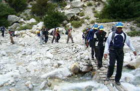 Trekking in Kedarnath