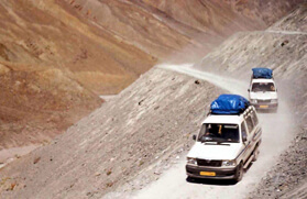 Ladakh Jeep Safari Tours