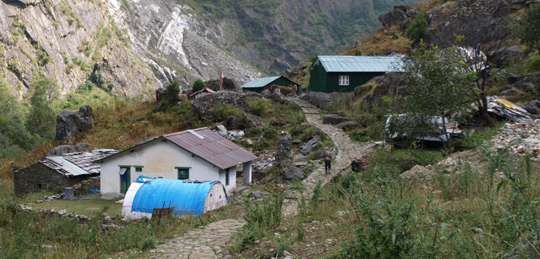 Panchachuli Base Camp Trekking Route