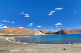 Pangong Lake Jeep Safari Tour  with Nubra Valley