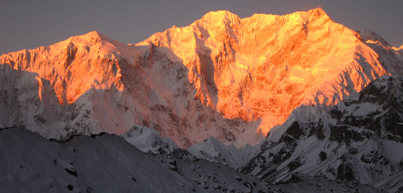 Climbing Peak in Sikkim