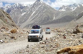 Trans Himalayan Jeep Safari Tour